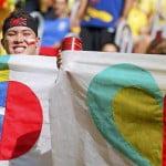 Confederations Cup 2013: Brazil vs. Japan - fan photos