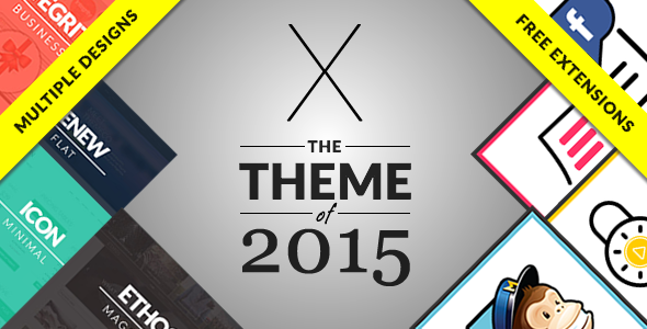 Wordpress X | The Theme by Themeforest