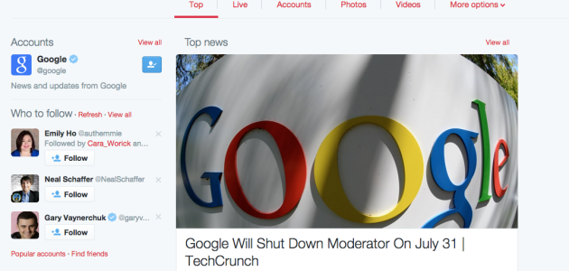 Google's Twitter Update Is About To Hit