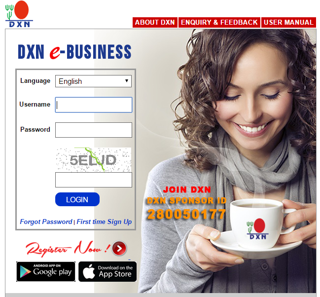 DXN has local Service Centers and DXN Branches in 50 countries and they delivery DXN products over 150 countries.